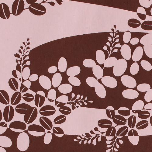 Gift Wrap - Hagi - Brown/Pink
