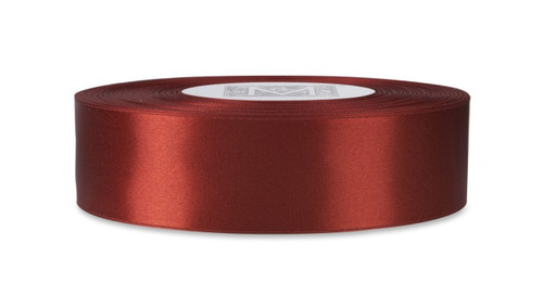 Double Faced Satin Ribbon - Venetian Red
