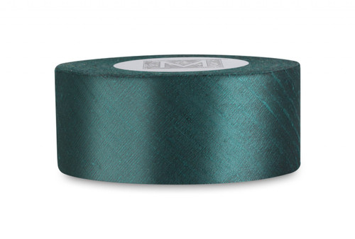 Dupioni Silk Ribbon - Trance Green