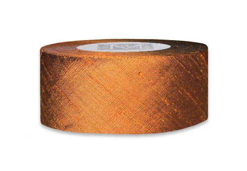 Dupioni Silk Ribbon - Antique Copper