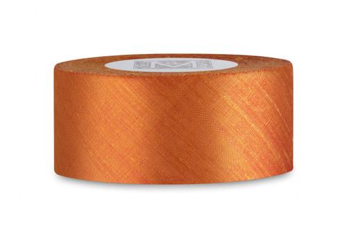 Dupioni Silk Ribbon - Burnt Sienna