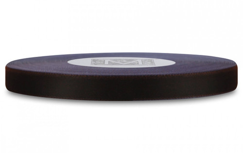 Velvet Satin Ribbon - Chocolate Velvet/Periwinkle Satin