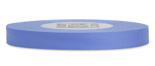 Herringbone Ribbon - Forget-Me-Not