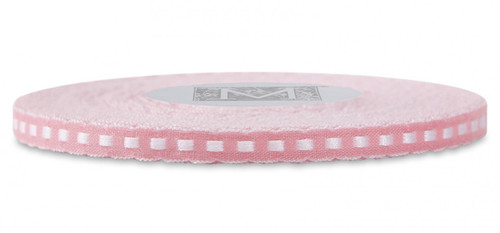 Scalloped Trim Ribbon - Kiss