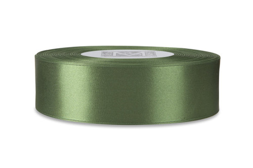 Custom Printing on Double Faced Satin Ribbon - Parsley