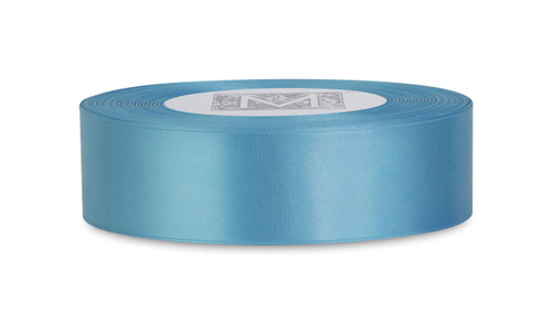 Custom Printing on Double Faced Satin Ribbon - Neptune