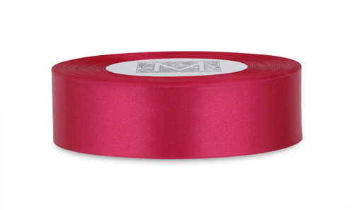 Custom Printing on Double Faced Satin Ribbon - Bougainvillea