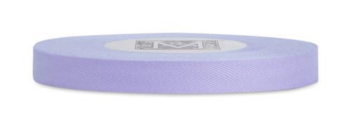 Custom Printing on Herringbone Ribbon - Lavender