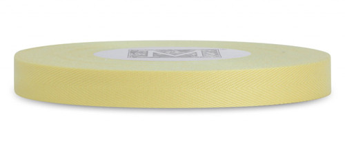 Custom Printing on Herringbone Ribbon - Sunshine
