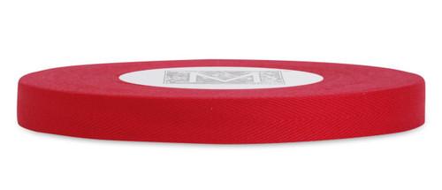 Custom Printing on Herringbone Ribbon - Red