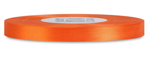 Custom Printing on Rayon Trimming Ribbon - Persimmon