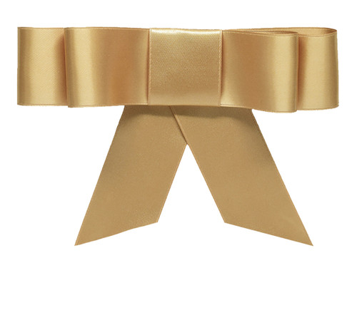Layered Bow Topper - Blond