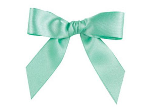 Embossed Edge Double Faced Satin - Mint