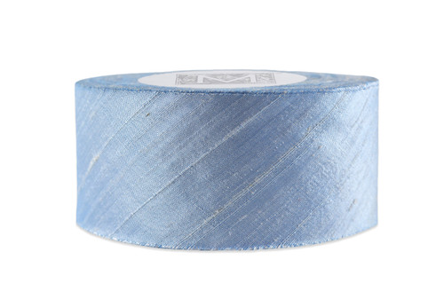 Dupioni Silk Ribbon - Ice Blue