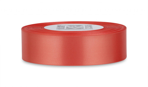 Double Faced Satin Ribbon - Coral