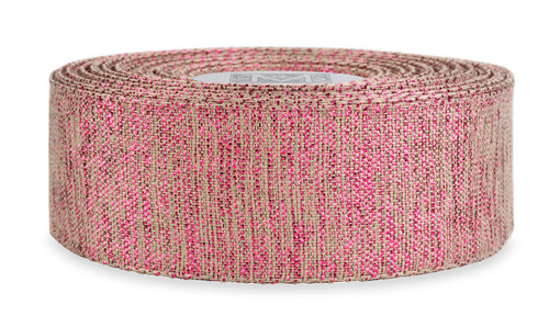 Sparkle Ribbon - Raspberry
