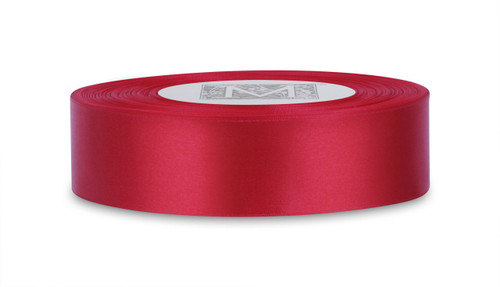 Double Faced Satin Ribbon - Red