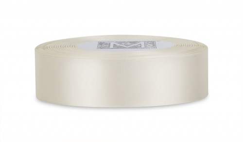 Double Faced Satin Ribbon - Bone