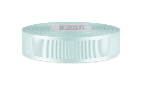 Satin Grosgrain - Mint Blue