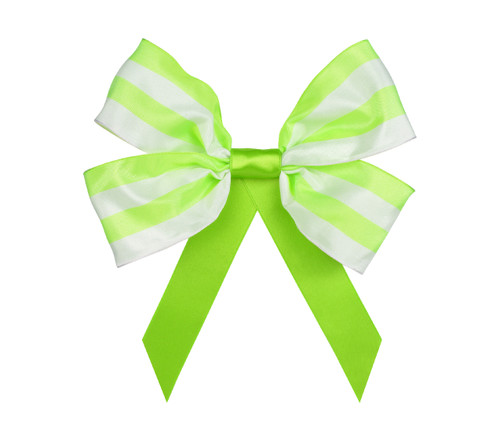 Promenade Double Bow: Lime Topper