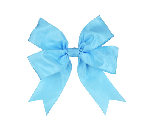 Ombre Double Bow: Lagoon Topper