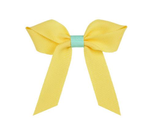 Two color Grosgrain Bow: Maize Topper