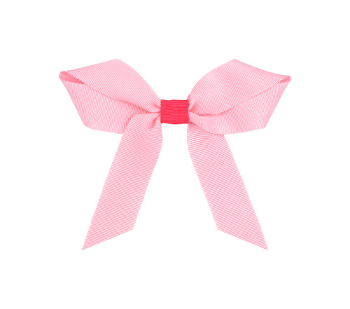 Two color Grosgrain Bow: Cherry Blossom Topper
