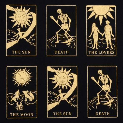 Tarot Cards - Black, Gold & Metallic
