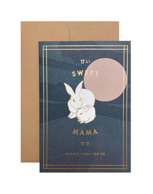 Sweet Mama Rabbit Card