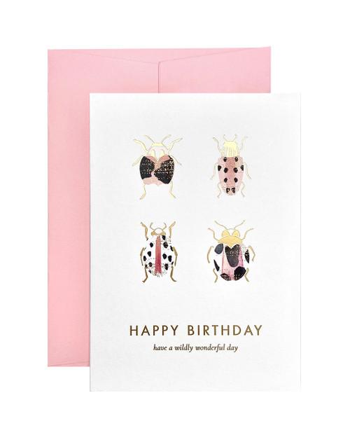 Birthday Beetle Card