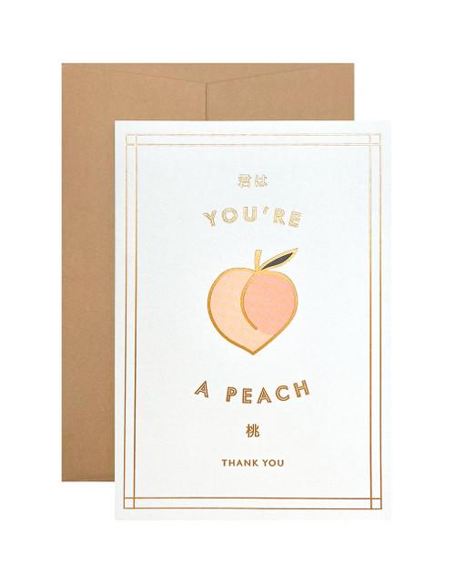 You're a Peach Card