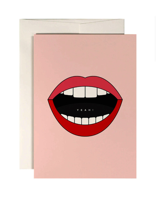Happy Lips Card