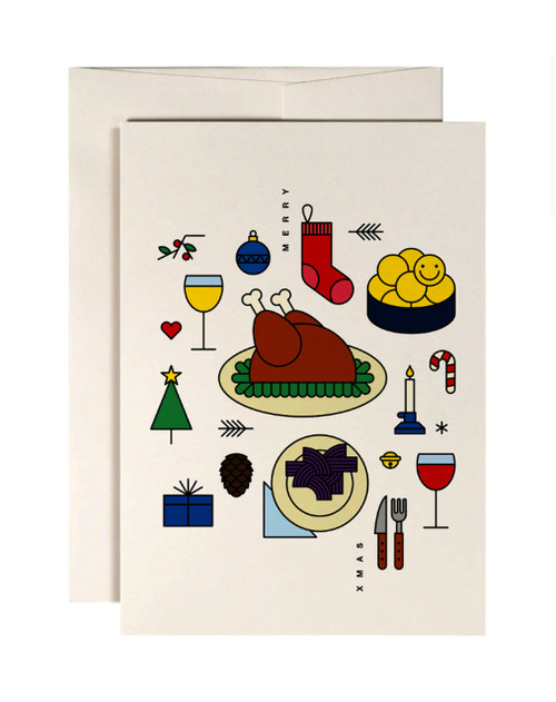 Holiday Roast Card
