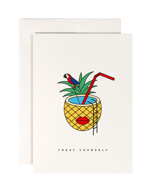 Tropical Punch Card