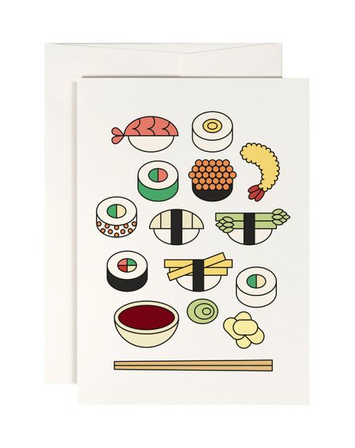 Sushi Box Card
