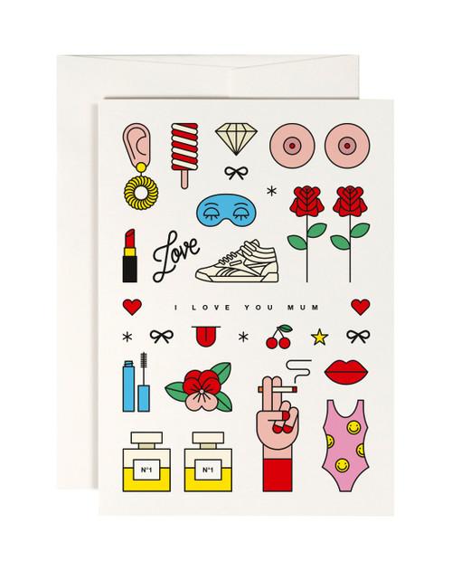 Cool Mum Card