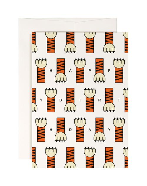 Tiger Paw Card