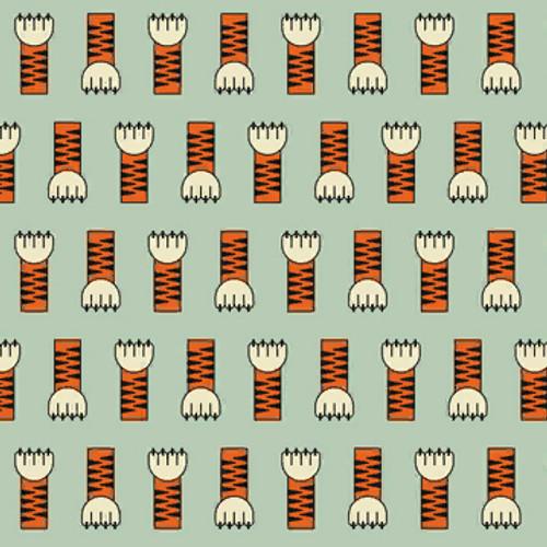 Tiger Paw Gift Wrap