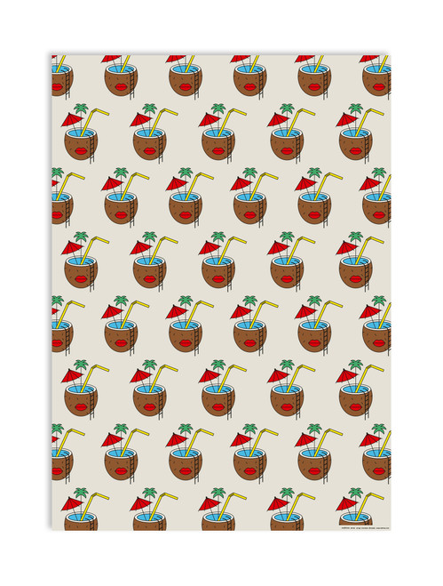 Coconut Dreams Gift Wrap