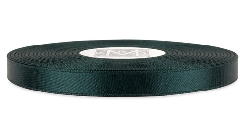 Double Faced Satin Ribbon - Hunter Green
