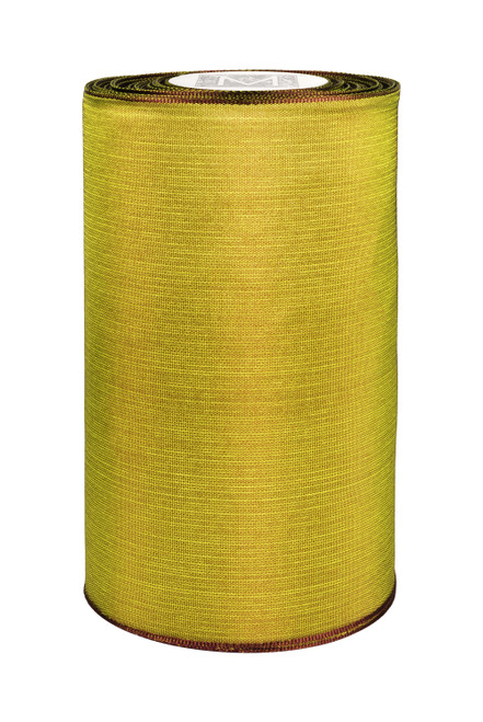 """5"""" Luxe Ribbon - Army Green"""