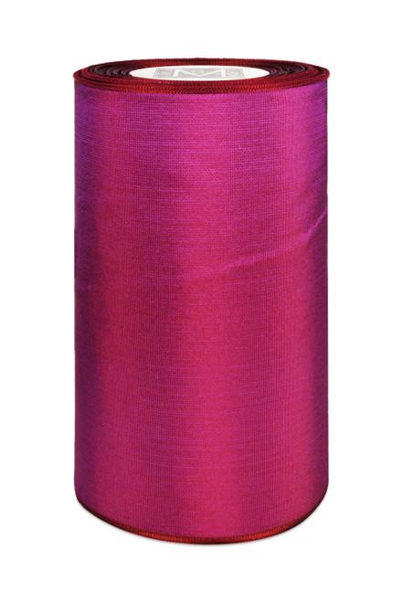 "5"" Luxe Ribbon - Burgundy Purple"