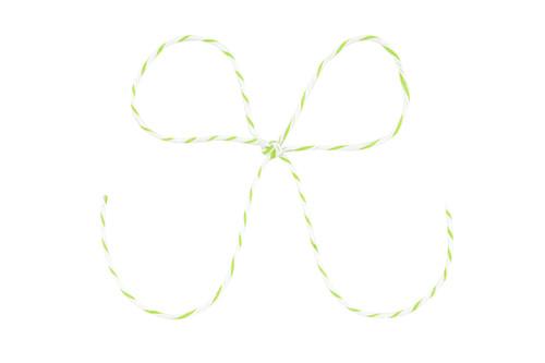 Baker's Twine - Green/White Stripe