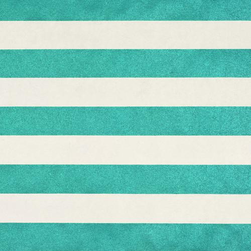 Stripes Cream Green Metallic