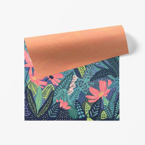 Secret Garden Double Sided Gift Wrap