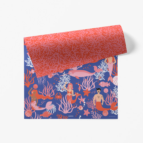 Sea of Love Double Sided Gift Wrap