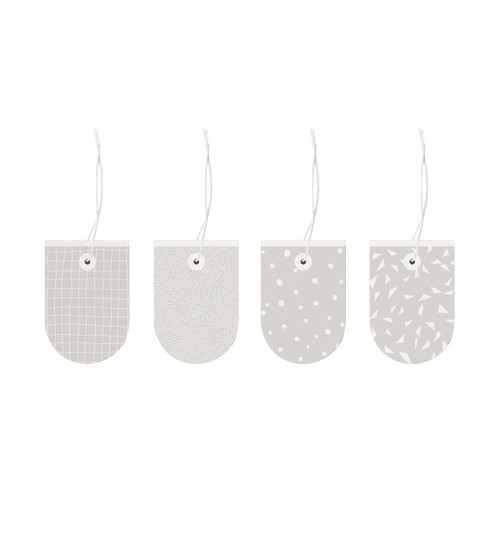 Neutral Patterned Gift Tags