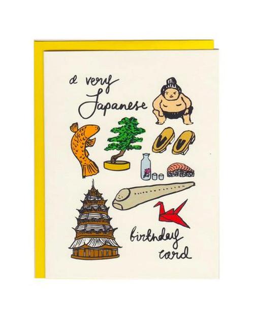 A Very Japanese Birthday Card