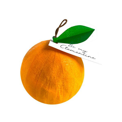 "Surprize Ball Mini Orange ""Be My Clementine"""