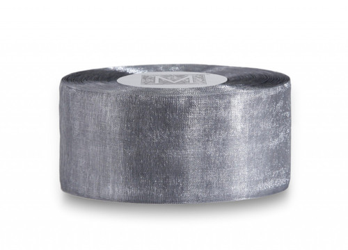 Organdy Ribbon - Pewter